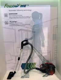 LGの掃除機「FOLLOW ME(自動追尾)機能」