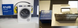 左:乾燥機。右:換気扇。